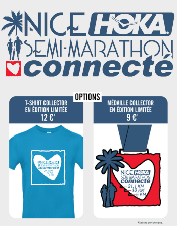 SEMI-MARATHON DE NICE CONNECTÉ HOKA ONE ONE